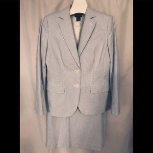 Brooks Brothers seersucker suit